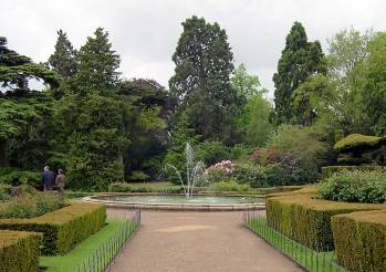 Marnock's pond and fountain