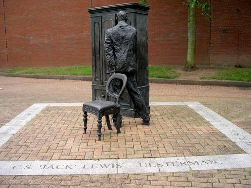 C.S. Lewis Statue