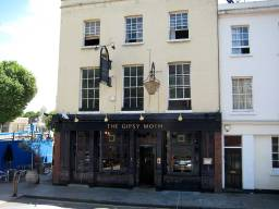 GYPSY MOTH AT 60 GREENWICH CHURCH STREET, built 1795 but name changed to GYPSY MOTH in 1975 to honour Francis Chichester