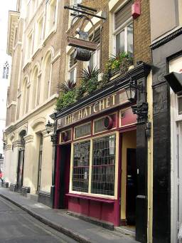 THE HATCHET, 28 GARLICK HILL, in Mansion House