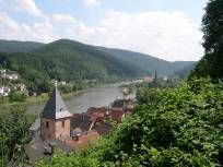 Overlooking the River Neckar