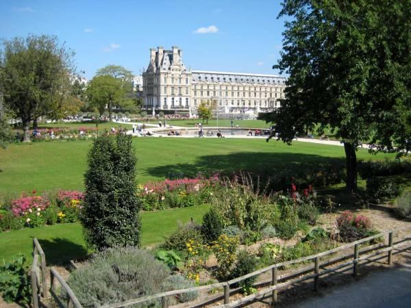 Gardens Of France 6 Jardin Des Tuileries Flowers