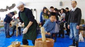 【報告】 サロベツ凧作り&おもちつき会  開催しました!
