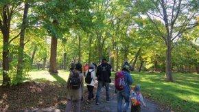 【報告】「10/11兜沼公園紅葉ハイキングツアー」を開催しました