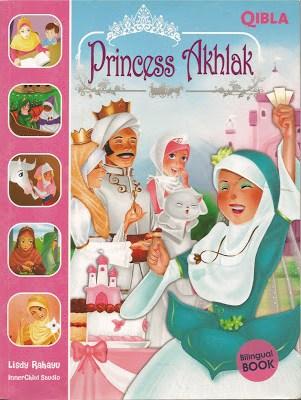sampul buku princess akhlak