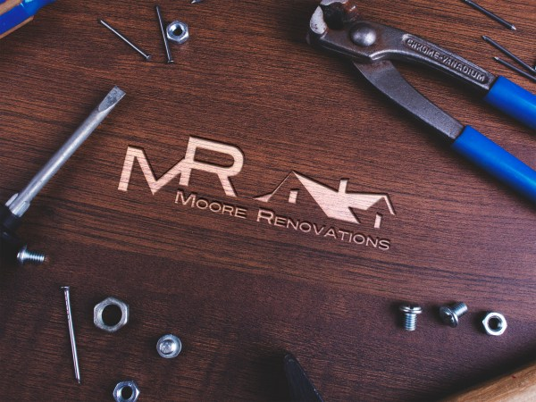 Moore Renovations Logo Design by Sarrie Creatives