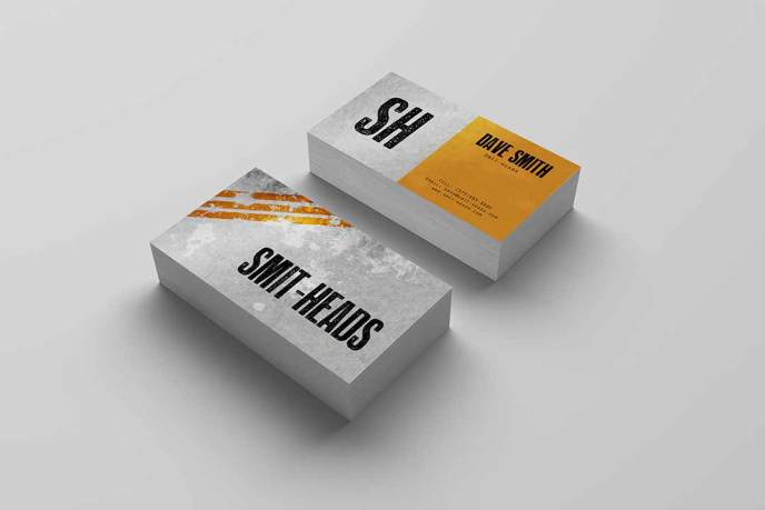 Apparel Business Card Design