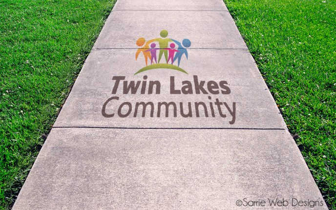 Logo Design by Sarrie Creatives for Twin Lakes Community