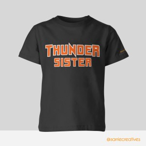 desoto thunder cheer sister shirt by sarrie creatives