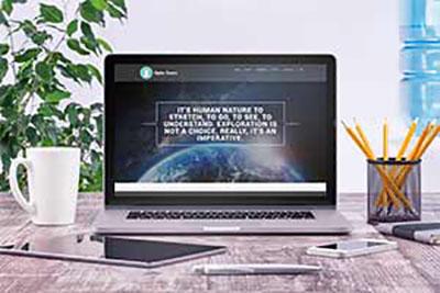 Alpha Tour's eLearning Website Design