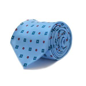 Χειροποίητη 3fold σιελ μεταξωτή γραβάτα