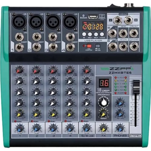 Mixer 6 canali dsp e bluetooth