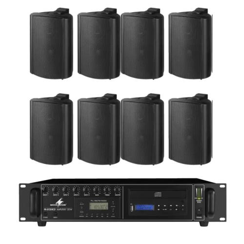 Impianto audio filodiffusione per bar e pub