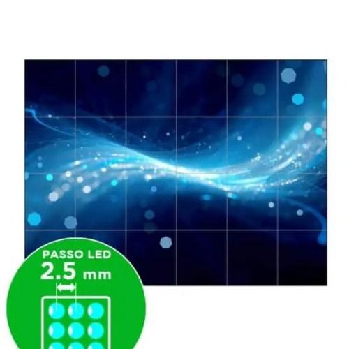 Impianto ledwall passo 2.5 mm 288x216