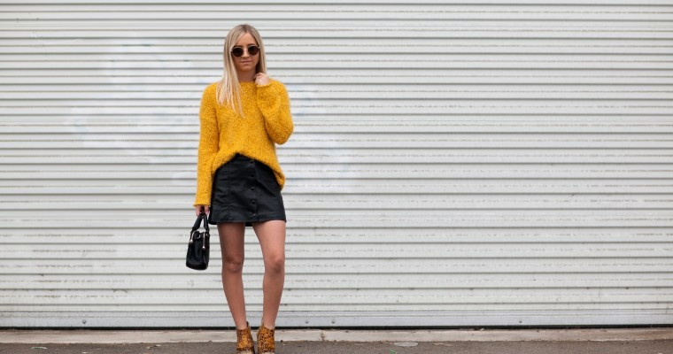 COLOR OF THE MOMENT: MUSTARD