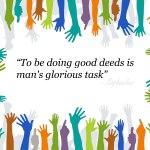 Empezando la semana 48 con alegría: Voluntario