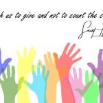 Empezando la semana 11 con alegría: Altruismo