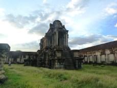 Beside Angkor Wat