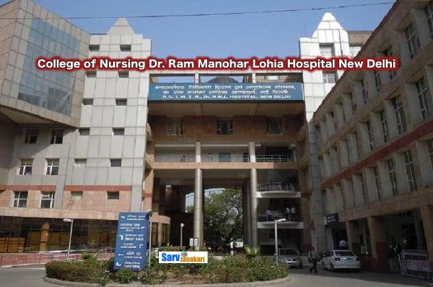 College of Nursing Dr. Ram Manohar Lohia Hospital New Delhi