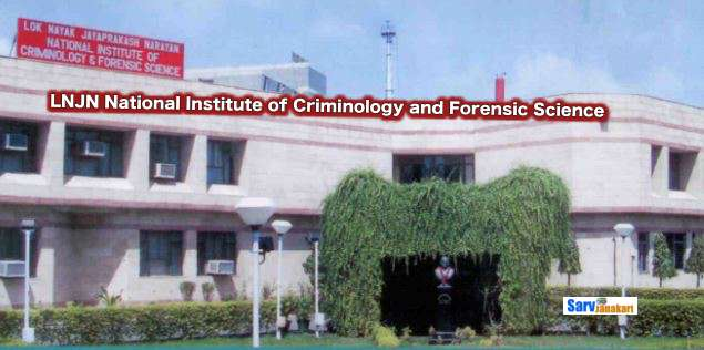 LNJN National Institute of Criminology and Forensic Science