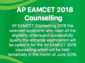 AP EAMCET COUNSELLING 2018