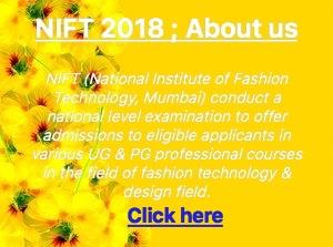 NIFT 2018