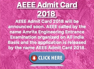 aeee admit card 2018