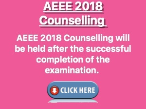 aeee counselling 2018 dates
