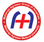 maharaja agrasen medical college logo