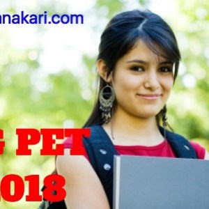 CG PET 2018 ;Application form, Eligibility criteria, Syllabus, Exam pattern