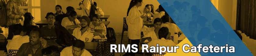 RIMS Raipur cafetaria