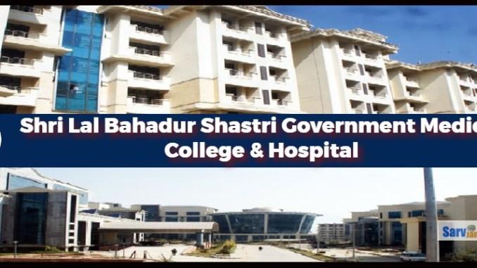 Shri Lal Bahadur Shastri Government Medical College Mandi