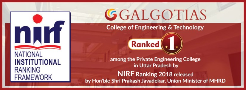Galgotias College of Engineering and Technology NIRF Ranking