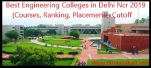 Best Engineering Colleges in Delhi 2019: Placement & Cut off