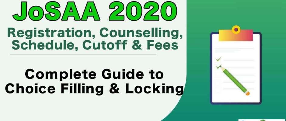 JoSAA Counselling 2020