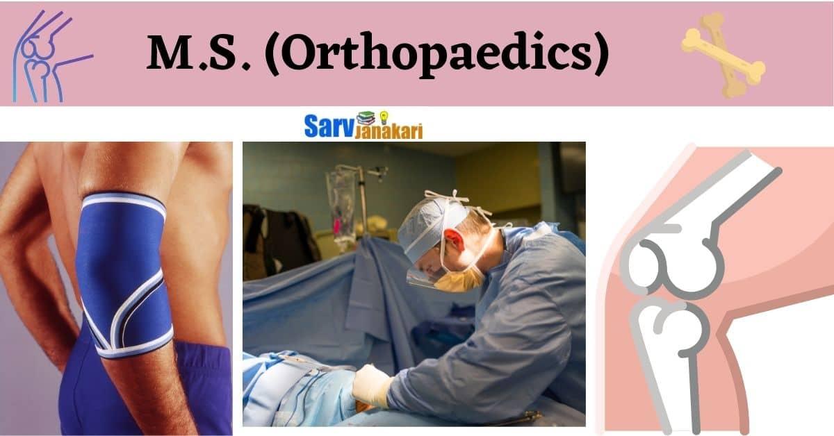 MS Orthopaedics