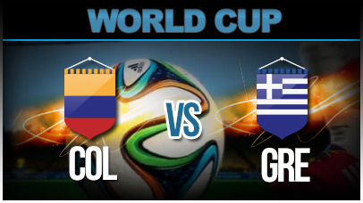 Colombia v Greece Group C FIFA 2014 Brazil
