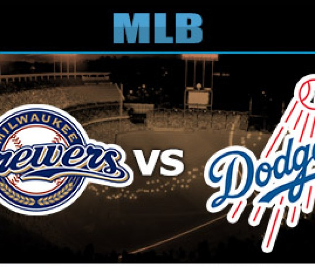 Dodgers Vs Brewers Betting Odds
