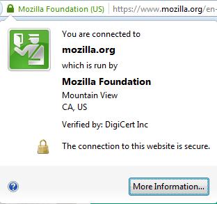 Certificado EV