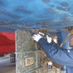 おばこ丸の船底の清掃~岩船港