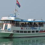 「ゆうなぎ」の初航海