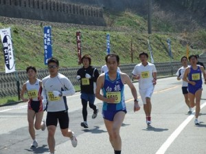第22回笹川流れマラソン大会にて