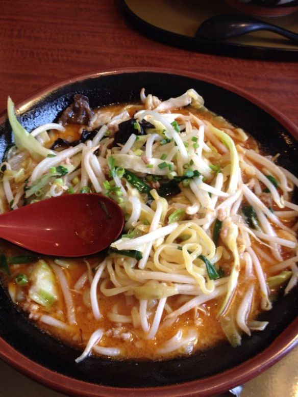 野菜たっぷり味噌ラーメン〜三宝亭