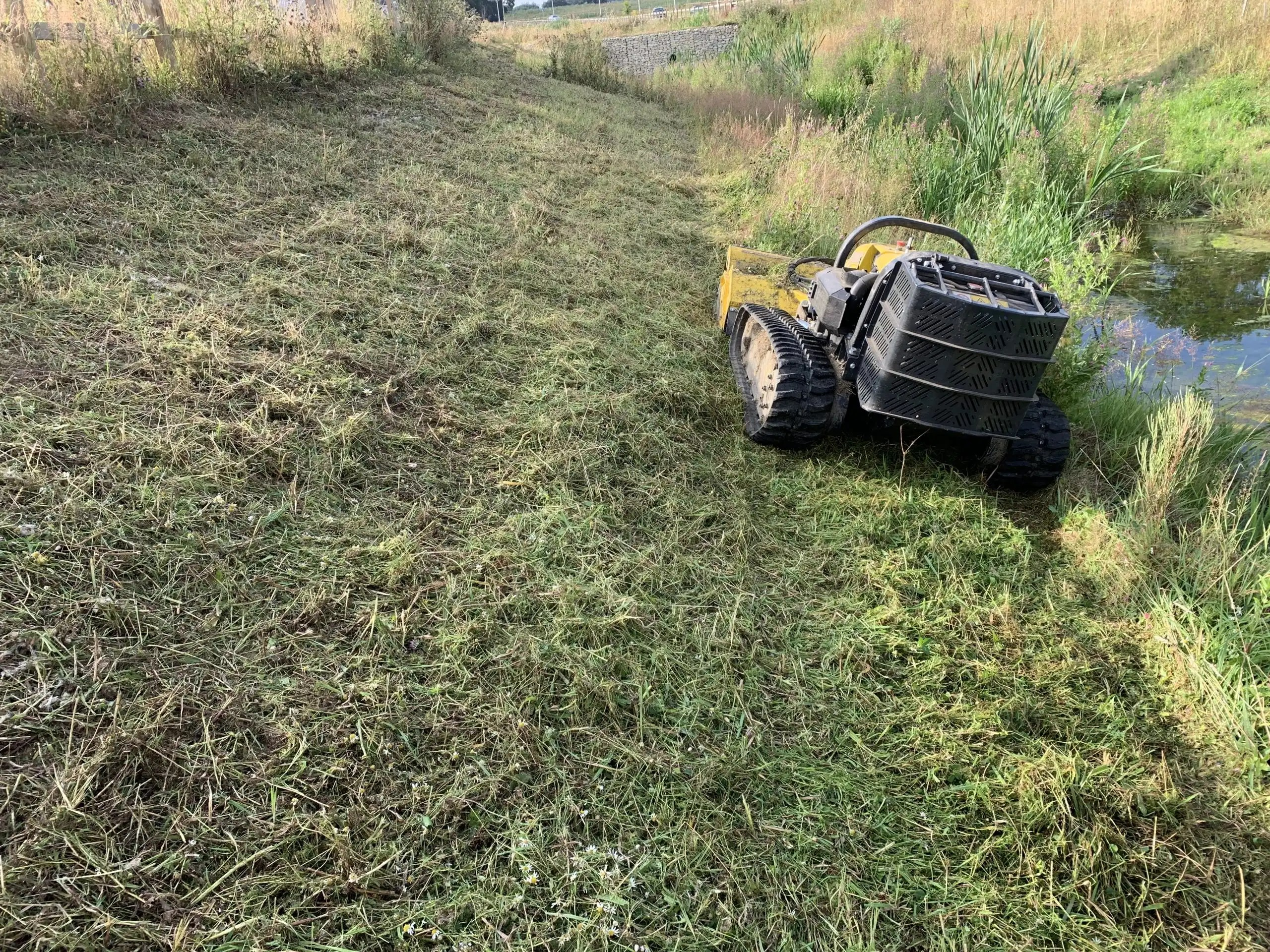 agricultural vegetation management and groundworks contractor machinery