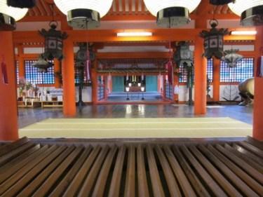厳島神社とユニセフのイベントに、吉方位旅行で行ってきました