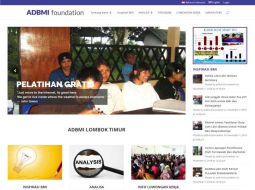 Website ADBMI Foundation