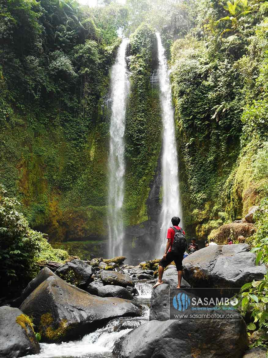tiu terja waterfall lombok