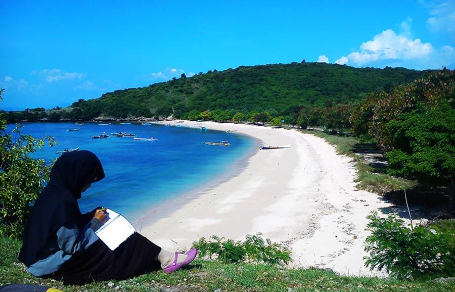 wisata pantai di lombok timur