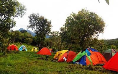 Camping Seru di Tetebatu Lombok Timur