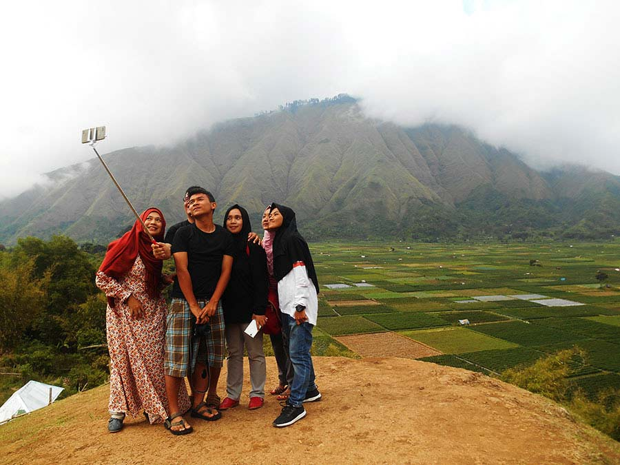 liburan bersama keluarga di lombok
